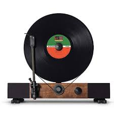 gramavox floating record player