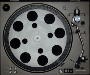 picture of a strange turntable