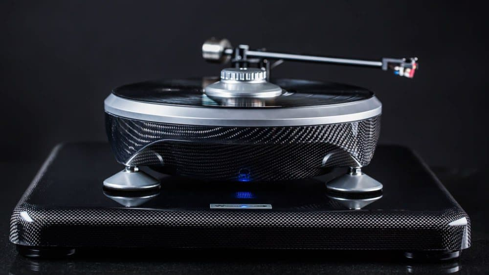 Parabolica Turntable By Grand Prix Audio